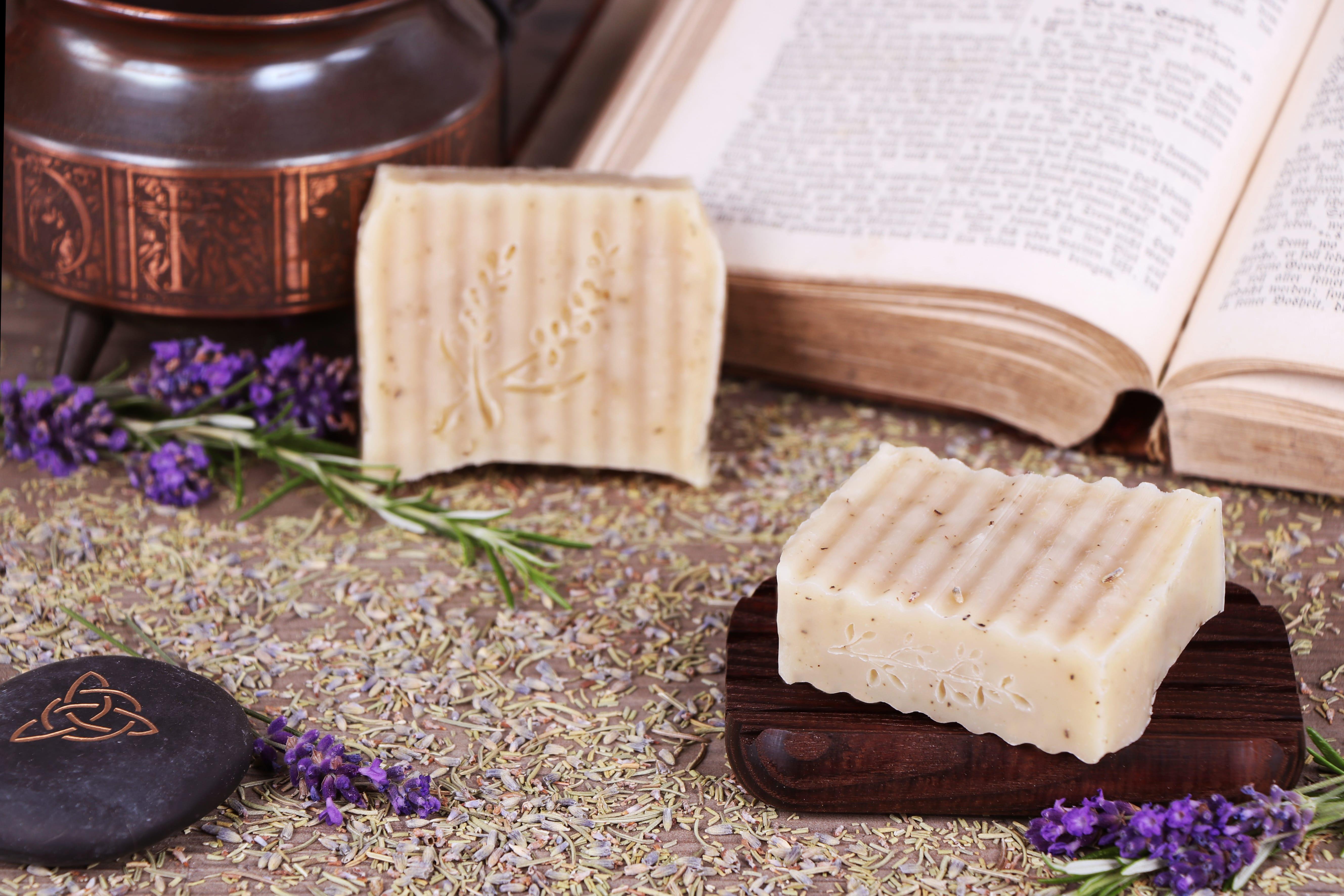 Shampooseife Rosmarin-Lavendel bei trockener Haut